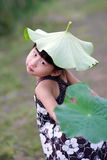 Chinese lovely girl Royalty Free Stock Images