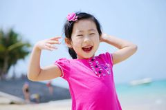 Chinese lovely girl Stock Image