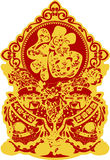 Chinese luck new year Royalty Free Stock Images