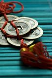 Chinese lucky coins Royalty Free Stock Images