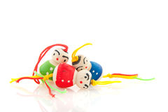 Chinese lucky dolls Royalty Free Stock Photo