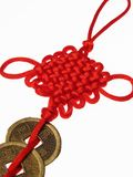 Chinese lucky knot. On behalf of auspicious Royalty Free Stock Photos