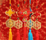Chinese lucky knots Royalty Free Stock Image