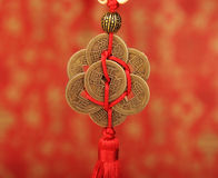 Chinese lucky knots Stock Images