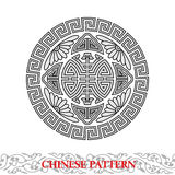 Chinese Lucky Pattern Stock Image