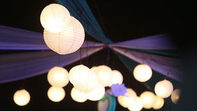 Chinese luminous balls stock video footage