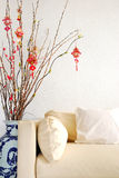 Chinese Lunar New Year decoration Stock Image