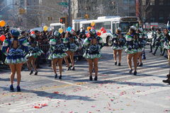 The 2015 Chinese Lunar New Year Parade 154 Royalty Free Stock Photo