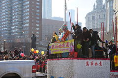 The 2015 Chinese Lunar New Year Parade 176 Stock Photography