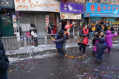 The 2015 Chinese Lunar New Year Parade 223 Royalty Free Stock Photos