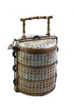 Chinese Lunch Box. Antique Chinese Lunch Box Stock Image