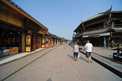 Chinese luodai old  town Stock Photography
