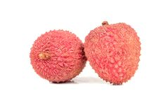 Chinese lychee fruit Stock Photography