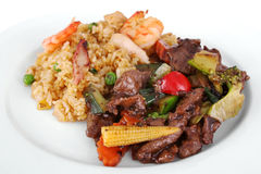 Chinese maaltijd Royalty-vrije Stock Afbeelding