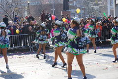 Chinese Maan het Nieuwjaarparade 149 van 2015 Stock Foto's