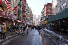 Chinese Maan het Nieuwjaarparade 173 van 2015 Royalty-vrije Stock Afbeelding