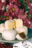 Chinese maancake Stock Afbeelding