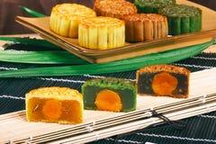 Chinese maancake royalty-vrije stock foto's