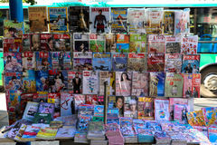 Chinese Magazine Stand Stock Images