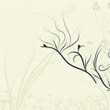 Chinese magic flower background Stock Image