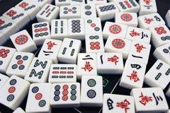 Chinese mahjong Royalty Free Stock Photos