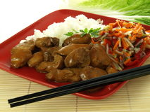 Chinese main course Stock Images