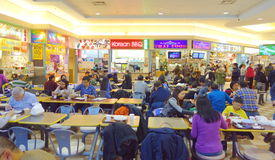 Chinese Mall Food Court Stock Photography