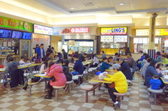 Chinese Mall Food Court Royalty Free Stock Image
