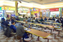Chinese Mall Food Court Stock Images