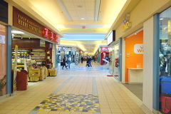 Chinese Mall. Chinese shopping mall in Toronto, Canada Stock Image