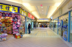 Chinese Mall. Chinese shopping mall in Toronto, Canada Stock Photography