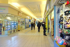 Chinese Mall. Shops in Toronto, Canada Royalty Free Stock Photos