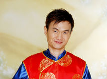 Chinese Man Portrait Royalty Free Stock Photography