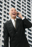 Chinese man in suit Royalty Free Stock Photos