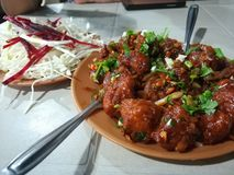 Chinese manchurian indian awesome royalty free stock photo
