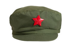 Chinese mao style cap Stock Photography