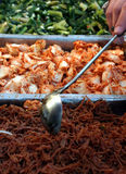 Chinese Market Buffet. A buffet of food at a Chinese Market Royalty Free Stock Images