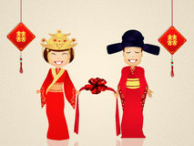 Chinese marriage Stock Photo