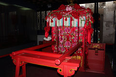 Chinese marriage with a sedan chair Royalty Free Stock Image