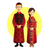 Chinese Marriage Wedding Outfit Ceremony Stock Photos