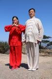 Chinese martial arts Royalty Free Stock Photo