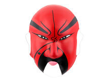 Chinese mask. A chinese mask on a white background Stock Image