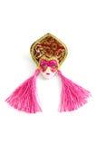 Chinese Mask. Isolated on white background Royalty Free Stock Photography