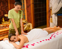 Chinese massage Stock Foto