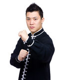 Chinese master ready to fight Stock Images