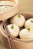Chinese meal of baozi also known as dim sun Royalty Free Stock Image