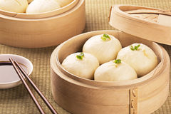 Chinese meal of baozi also known as dim sun Royalty Free Stock Photography