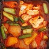 Chinese meal closeup Stock Photos