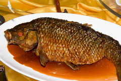 Chinese meal fish Stock Images