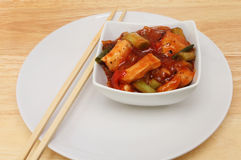 Chinese meal on a table Royalty Free Stock Photography